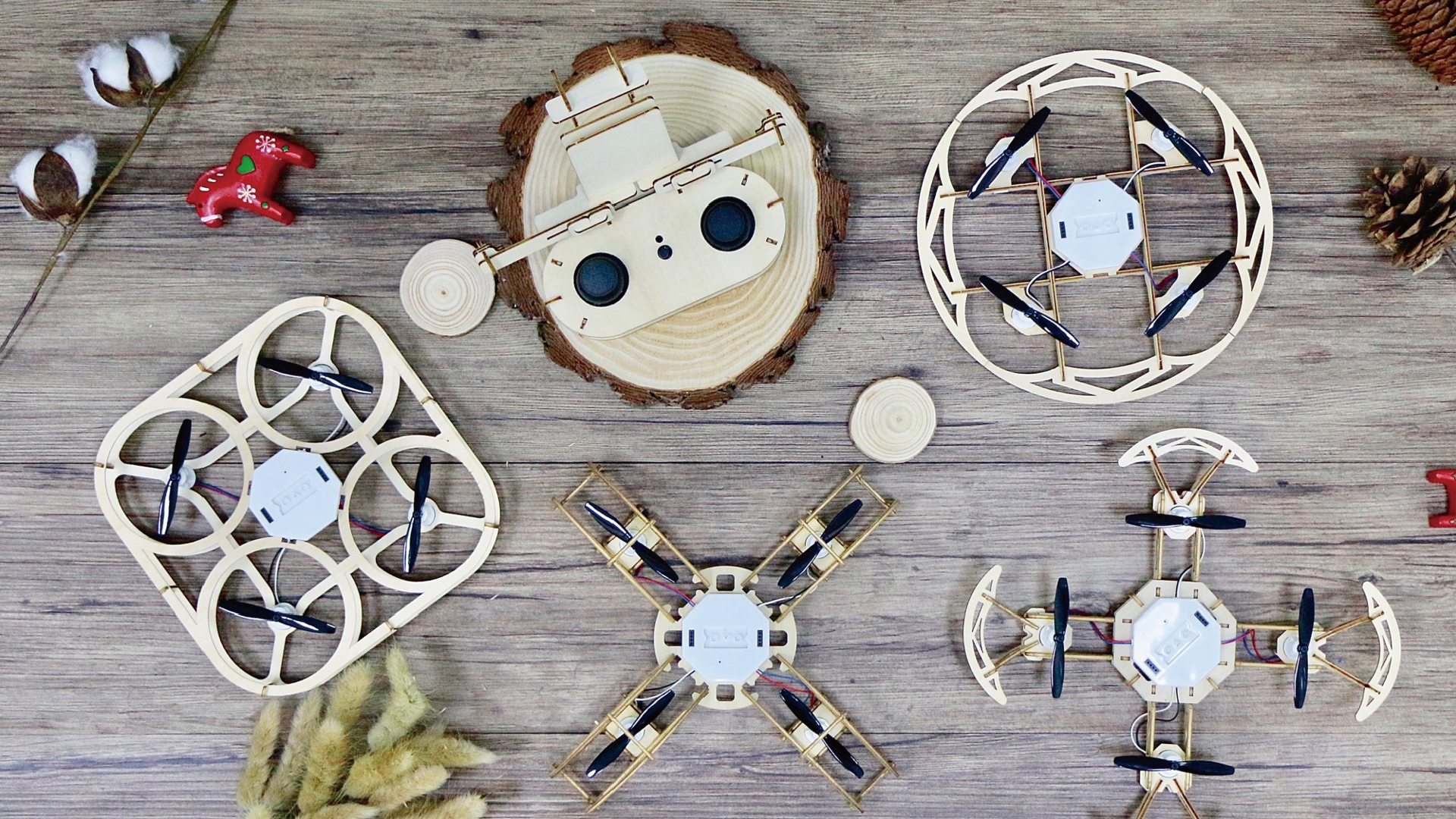 WOOD DRONE